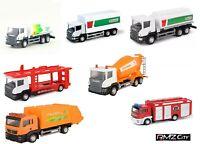 1/64 Diecast RMZ City Truck Tanker Toys Transport Vehicle Car Model Miniature