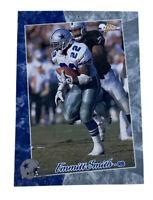 1993 Pacific Prototype #001 Emmitt Smith Football Card Dallas Cowboys