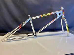 1980 Vintage BMX Mongoose Motomag Nickel Frame/Fork Supergoose Pro class