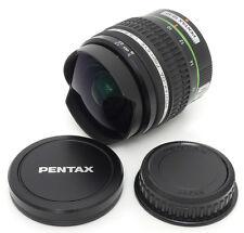 Pentax SMC DA Fisy-Eye 10-17mm F3.5-4.5 ED IF Lens