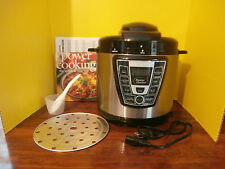 Power Cooker Pro - Digital Electric Pressure Cooker and Canner 6 Quart