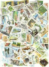 100 Flora & Fauna Stamps All Different Nice Lot