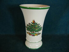 "Spode Christmas Tree 5 1/2"" Tall Trumpet Vase"