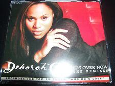 Deborah Cox It's Over Now Australian Remixes CD Single