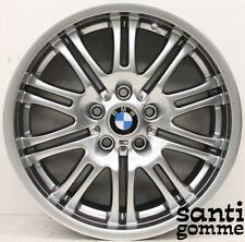 """1 CERCHIO IN LEGA BMW M3 e46 ORIGINALE 9 x 18 """" ORIGINALE CROMO 2229960"""