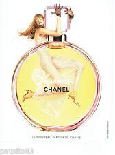 PUBLICITE ADVERTISING 056  2003  Chance  le nouveau parfum de Chanel