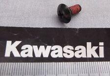 Genuine Kawasaki Phillips button head panel mounting screw Black 92009-1455