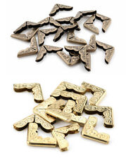 Decorative Metal Corner End Protectors Gold Antique Brass