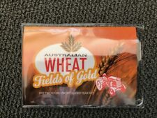 Australian Wheat Fields of Gold Coins - Two UNC Coins Year Set - 2012 RAM