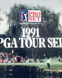 1991 PGA Tour Pro Set, Excellent Condition