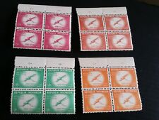 INDONESIA 1960 SG 838-841 WORLD HEALTH DAY BLOCK OF FOUR   MNH