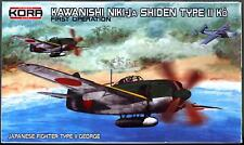 "KORA Models 1/72 NAKAJIMA N1K1-Ja SHIDEN TYPE 11 Ko ""GEORGE"" First Operation"