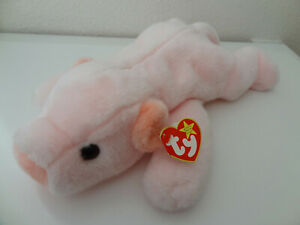Ty Retired Beanie Buddy - Squealer the Pig - Style #9313