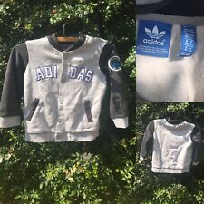 a9266eed4 Adidas Originales 1-2 Años Bebé Niños Varsity chaqueta de algodón 12-18  meses