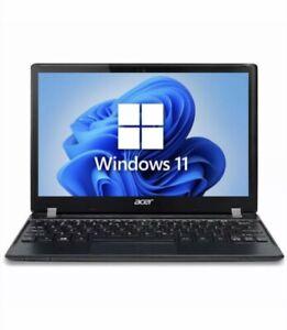 Acer Travelmate B113 11.6 inch Laptop Windows 11 8GB RAM DDR3 500GB HDD WiFi -1