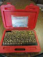 Pin Gage Set M2 0251 0500250 Pins00002 Plus Accuracy 726b 755