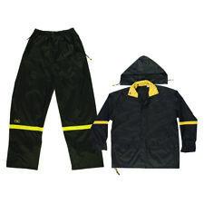 CLC  Climate Gear  Black  Nylon  Rain Suit  L