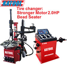 ComboTire Changer Kt850 + Wheel Balancer Kt-B700, Garage Equipment, Shop Tools