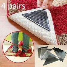 Carpet Silicone Grippers Mat No Slip Corners Rug Grip Pad Bathroom Home Anti
