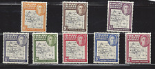 Falkland Islands, lot of 8 Mint stamps, scott#'s 1L1-1L8, issued 1949-1954