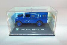 Diecast Car Cararama Land Rover Series III 109 Scale 1/72 Ambulance Car