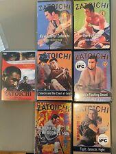 Zatoichi The Blind Swordsman 7 DVD Lot Series 3,4,6,7,8,11 & One Armed Swordsman
