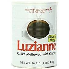 Luzianne Premium Blend Coffee & Chicory, 16oz (24 Pack)