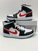 Nike Air Jordan 1 Mid Alternate Swoosh Women's Sz 8.5 (men Size 7) BQ6472-063