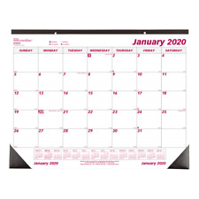 "Brownline Monthly Desk Pad Calendar, 22"" x 17"", January to December 2020"