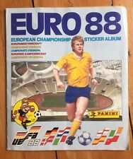 Panini Euro 88 Germany European Championship Sticker Album 100% Complete. UK ed.