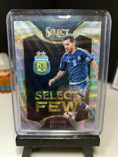 2016-17 Panini Select Soccer LIONEL MESSI Select Few PRIZM Holo Argentina