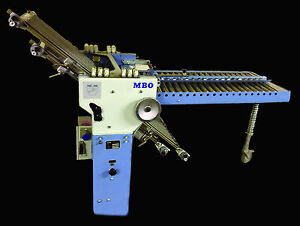 MBO Right Angles (8-pagers) Available (T49, B18, B123) Fold Unit