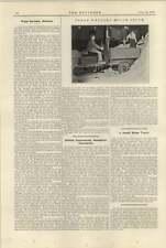 1920 Three Wheeled Motor Truck Truck Tractor Clark Chicago