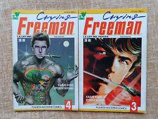 Comic, Crying Freeman: La Ley del Yakuza, nº 3 y 4 de 8, Viz, 1992, Kazuo Koike