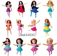 2006 McDonalds Dancing Barbies MIP Complete Set - Lot of 12, Girls, 3+