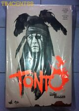 In Stock! Hot Toys Disney The Lone Ranger Tonto Johnny Depp 1/6 Figure