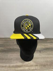 Adidas MLS Columbus Crew BRAND NEW Snapback hat cap Football Club FC