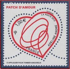 2012 FRANCE N°4632** Saint-Valentin, COEUR Patch d'amour d'Adeline André MNH