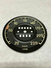 New Speedometer Gauge Face Fits Mercedes W111 W113