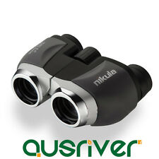 Nikula 10x22 Multi Coated Pocket Size Bak4 Prism Sporting Outdoor Binoculars