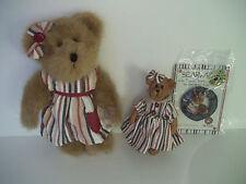 Boyds Bears 2007 FOB Kit Plush Best Dressed Bearstone Pin C C Shopsalot