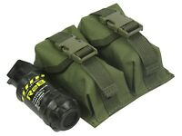 Pouch Case molle pals magazine grenade PAINTBALL airsoft bag olive Waterproof od