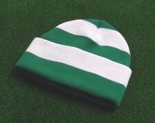 Celtic Colours Retro Bar Hat - Emerald & White - Made in UK