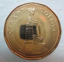 CANADA 1994 NATIONAL WAR MEMORIAL LOONIE BRILLIANT UNCIRCULATED DOLLAR COIN