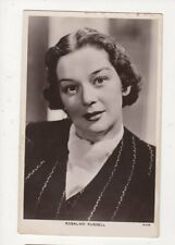 Rosalind Russell Actress Vintage RP Postcard 485a