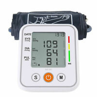 Automatic Upper Arm Blood Pressure Monitor Tonometer Arm  Bp Heart Rate Meter