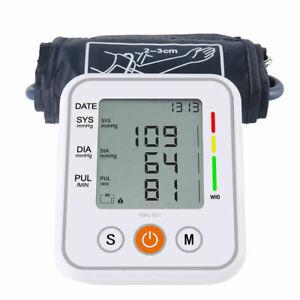 Digital Automatic Blood Pressure Monitor Upper Arm Meter Intellisense 99 Memory