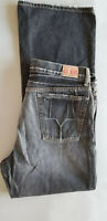 GUESS Vintage Vtg Men Laredo Boot Cut 100% Cotton Denim Jean - 36x32 Dark Blue