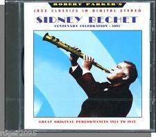 Sidney Bechet - Centenary Celebration - New Jazz CD! 24 Songs, Over 70 Minutes!