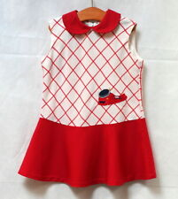 Robe vintage col Claudine 4 ans